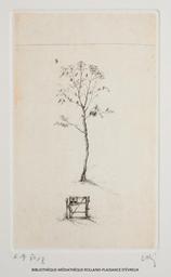 Arbre et barrière | Shiraishi, Mitsuo (1969-....). Graveur