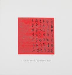 Manuscrit | Goujaud, Anne (1954-....). Graveur