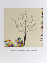 Arbre - Monotype | Goujaud, Anne (1954-....). Graveur