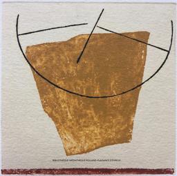 Un peu fragile | Goujaud, Anne (1954-....). Graveur