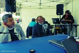 Interview radio d'Agosto et Wallace (Principe Actif & la Médiathèque d'Evreux) |